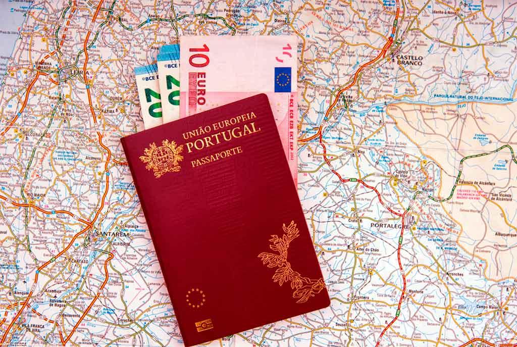 Внутренний паспорт гражданина Португалии