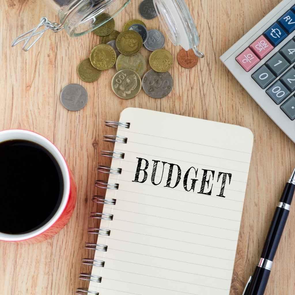 Пример: бюджет на месяц для семьи с ребенком